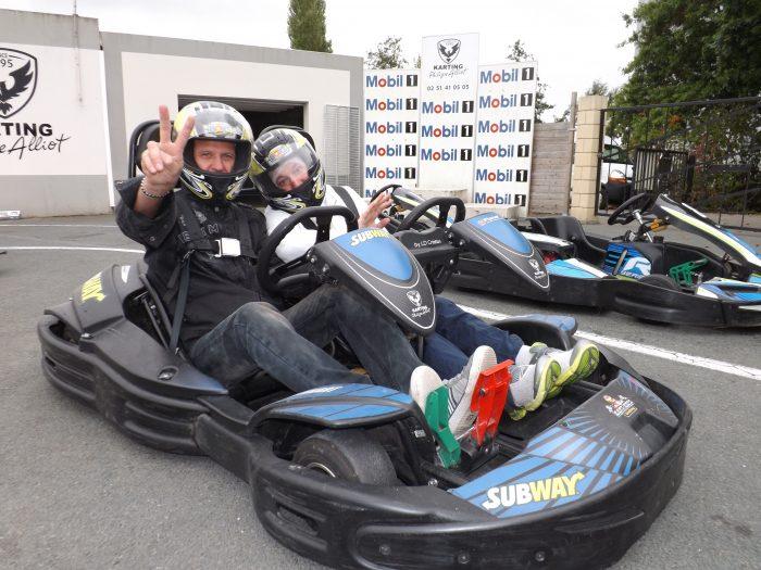 petit tour en karting