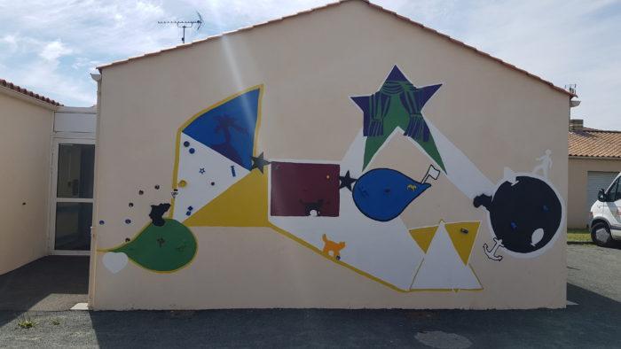 image de la fresque